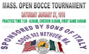 Bocce, New England Bocce, Boston Bocce, Methuen Bocce, Sons of Italy, Methuen Sons of Italy, Massachusetts Bocce, MA Bocce, East Coast Bocce, Northeast Bocce, Bocce Tournament, Bocce Tournaments
