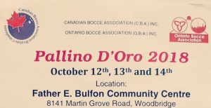 2018 Pallino D'Oro Canada Bocce, Canadian Bocce, Bocce, BocceBall, Bocce Tournament, Bocce Tournaments, Canadian, Woodbridge, Woodbridge Ontario, Ontario Canada