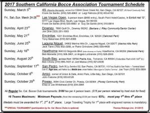Southern California Bocce, Bocce Tournaments, SoCal, SoCal Bocce, USA Bocce, US Bocce, Western Sector Bocce, USBF, US Bocce Federation, California Bocce