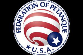 USA Petanque, US Petanque, United States Petanque, Petanque USA, American Petanque, FPUSA, FIPJP, Federation Internationale de Petanque et Jeu Provencal Logo, American Petanque, Petanque Rules, Petanque Regulations, USA Petanque Rules, Boules, International Boules